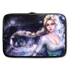 """Frozen Elsa Dark Sleeve for 17"""" MacBook Pro"""