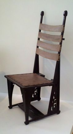 Charles Rohlfs - Chair -  Arts & Crafts - Bungalow