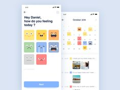 daily exercise Emotional box app you like it Ui Design Mobile, App Ui Design, Interface Design, Blog Design, Emotions App, Feelings, Spell Your Name Workout, Math Practice Worksheets, Hiit Workouts For Beginners