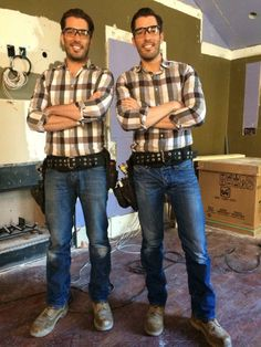 jonathan and drew scott - How Tall Is Jonathan Scott