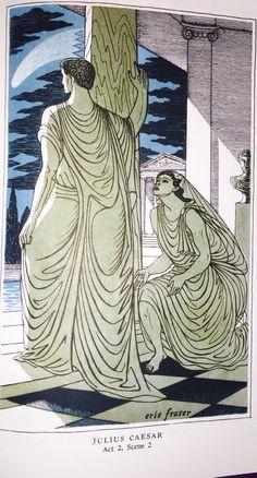 William Shakespeare's: Julius Caesar Act 2, Scene 2.