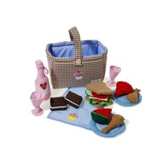 Soft Play Food:  Picnic Hamper