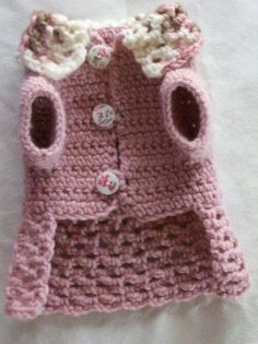 Free Crochet Dog Clothes Patterns