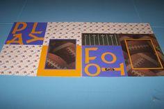 Minnesota Vikings Football 12 x 12 Premade by 1OfAKindCrafts
