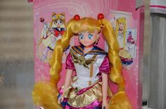 Eternal Sailor Moon Chara Talk Doll Bambola Bandai Japan Team Bambole