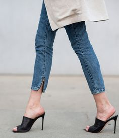 Transform the way you wear heels with unexpected cutouts and styles, like these black kickers