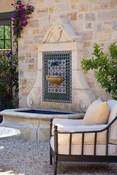 Outdoor Seating Areas, Outdoor Rooms, Outdoor Living, Outdoor Decor, Outdoor Wall Fountains, Garden Fountains, Tabletop Fountain, Indoor Fountain, Patio Fountain