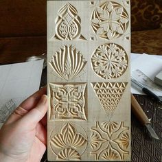 More Than Just Chip Carving © ( Wood Carving Designs, Wood Carving Patterns, Easy Woodworking Projects, Woodworking Techniques, Dremel Wood Carving, Chip Carving, Got Wood, Wood Burning Art, Wooden Art