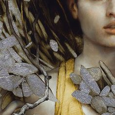 Brad Kunkle detail Gold Leaf Art, Gold Art, Painting People, Figure Painting, Traditional Paintings, Contemporary Paintings, Brad Kunkle, Ap Studio Art, Grey And Gold
