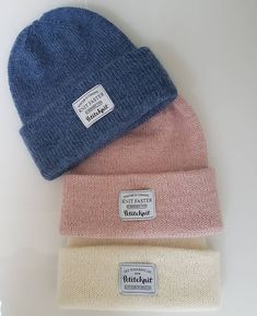 Knitted Hats, Sewing, Knitting, How To Make, Accessories, Fashion, Tejidos, Dressmaking, Threading