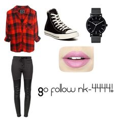 """""""nk-4444 style"""" by souphiataghiakbari ❤ liked on Polyvore featuring Ragdoll, Converse, The Horse and Fiebiger"""