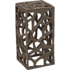 "Petco+Rustic+Tower+Aquarium+Ornament+-+8"";+H+X+4"";+Diameter,+A+fun,+rustic+tower+that+will+add+depth+to+your+aquarium.+Features+plenty+of+fun+cut-outs+for+your+fish+to+swim+in,+around+and+through.+Reduces+stress+and+boredom+for+your+fish. - http://www.petco.com/shop/en/petcostore/petco-rustic-tower-aquarium-ornament"