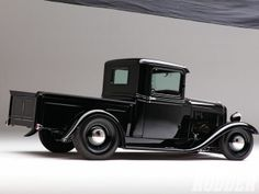 1212sr-07+black-1932-ford-truck+right-side