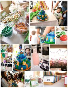 A Very Hungry Caterpillar Themed First Birthday Party via La Design Boutique