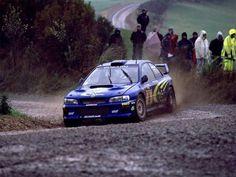 Subaru WRX w/ short shifter & rally blue interior. Subaru Impreza Wrc, Wrx Sti, Subaru Rally, Rally Car, Rally Drivers, Full Hd Wallpapers, Rallye Wrc, Colin Mcrae, Wallpaper Free