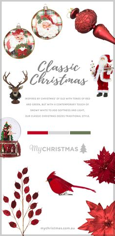 Our Christmas color trend themes as well as the traditional red, green and gold still present, see blues continue … Christmas Craft Fair, Merry Christmas To You, Christmas Activities, Christmas Traditions, Red Christmas, All Things Christmas, Christmas Tree Themes Colors Red, Silver Christmas Decorations, Christmas Trends