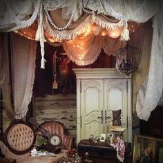 boho bedroom at GypsyFaire - so very Gypsy!!