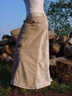 ~Long Denim Skirts~