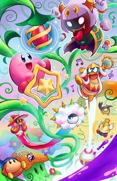Kirby Triple Deluxe by Torkirby.deviantart.com on @deviantART