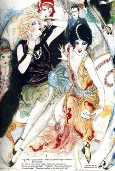 The American Weekly,1927. Illustrated by Nell Brinkley