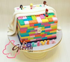 Lego Friends Cake, Lego Friends Birthday, Lego Friends Party, Lego Birthday, 11th Birthday, 9 Year Old Girl Birthday, Birthday Cake Girls, Birthday Parties, Butterfly Birthday Cakes