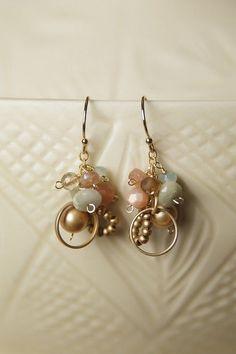Harmony Gemstone Cluster Earring