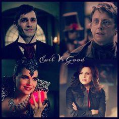Awesome Regina Evil Queen Regina Mr Hyde Dr Jekyll (Lana Sam Hank) #Once S5B
