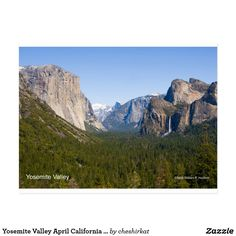 "Want a photogift that says ""California!"" for yourself or others? Dirk, from Gatterstädt, Germany, purchased TWO ""Yosemite Valley, April"" postcards from the Cheshire Cat Photo™ Store on Zazzle®! ""Give the gift of California!℠"" Right now, Zazzle is offering 50% off all cards! Check out our Cheshire Cat Photo Gallery https://cheshirecatphoto.smugmug.com, the Cheshire Cat Photo Store https://www.zazzle.com/cheshirkat/, and our Web site http://www.cheshirecatphoto.com! Image © William F. Hackett."