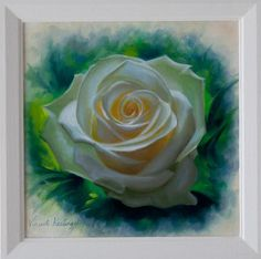 Nature's Gold A small oil painting on canvas of a white rose.  Size Canvas 20x20cm Frame 40x40cm  Price Full Payment 450 Euro  Or pay 5 monthly payments of 90 Euro Or pay 10 monthly payments of 45Euro Please note that paintings are only shipped after full and final payment is made.   FREE SHIPPING for both Irish and International customers  Find me on facebook https://www.facebook.com/VincentKeelingArt/ Find me on Instagram https://www.instagram.com&#x2F...