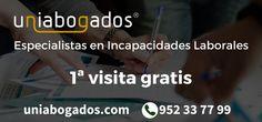 Abogado para incapacidad permanente en Málaga