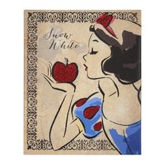 Fashionista Snow White Canvas Art Print | Kirklands