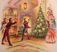 A fireside toast to Christmas.
