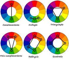 Nossa paleta de cores!