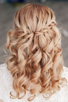 Wedding Hairstyles With Braids And Curls Compilation