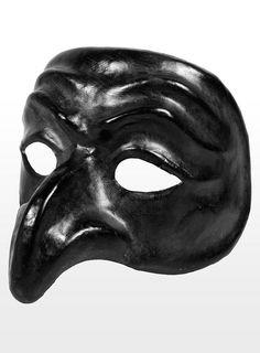Pulcinella, black traditional italian mask