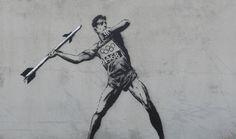 Banksy Olympics, 2012.