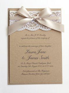 29 Best Burlap Wedding Invitations Images