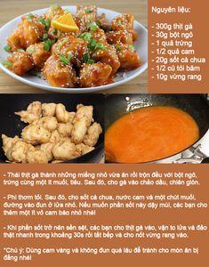 Các món gà sốt đưa cơm ngon lành Helathy Food, Good Food, Yummy Food, Cooking Recipes, Healthy Recipes, Bento Box Lunch, Vietnamese Recipes, Food Design, Clean Eating