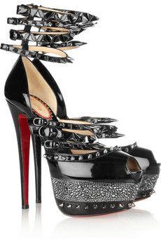 christian louboutin blue shoes men - Christian Louboutin Shoes on Pinterest | Red Sole, Black Patent ...