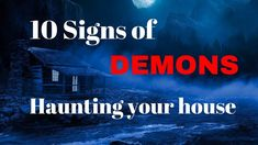 10 Signs of DEMONS Haunting your House - Spiritual House Cleansing Prayer Deliverance Prayers, Powerful Prayers, Prayer Chain, Spiritual Warfare, Power Of Prayer, Demons, Spirituality, Signs, Youtube