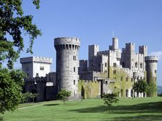 Penrhyn Castle, Gwynedd, Wales - originally a medieval fortified manor house, the present building was created between 1820 and 1840 to designs by Thomas Hopper.