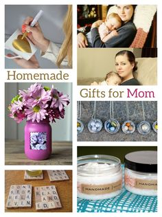 7 Homemade Mothers Day Gifts (