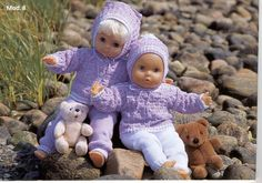 Album Archive - Dukketøj til Baby Born 2 - Ingelise Barbie Clothes, Barbie Outfits, Baby Born, Album, Knitted Dolls, 18 Inch Doll, Little Darlings, Crochet Baby, Baby Dolls