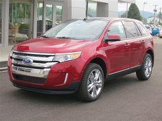 New 2013 Ford Edge SEL (Red Car) | Charleston