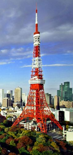 Tokyo Tower, I'd rather go here than the Eifel tower tbh
