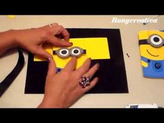 I made adorable Despicable Me Minion Cookies. In this video cookie tutorial I show you step by step how to make adorable Despicable Me Minions Cookies. Despicable Me Party, Minions Despicable Me, My Minion, Foam Crafts, Diy Crafts, Minion Cookies, Minion Card, Cookie Tutorials, Video Tutorials