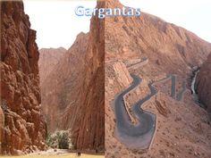 Ruta Gargantas y Dunas, las impresionantes gargantas