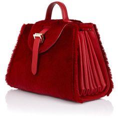 meli melo Allegra Mini Bag (22 735 UAH) ❤ liked on Polyvore featuring bags, handbags, shoulder bags, purses, hand bags, man bag, handbags shoulder bags, red purse and top handle handbags