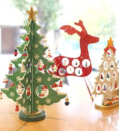 입체 목각인형 크리스마스트리 모음전 : 콩스토어