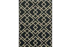 63X87 Rug-Adley Black